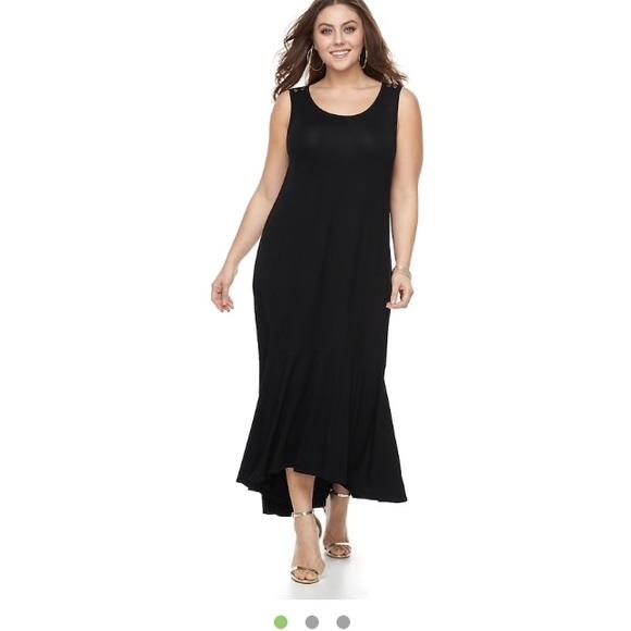 Apt. 9 Dresses | Kohls Plus Size Maxi Dress Size 4x | Poshmark